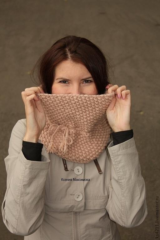 главная страница, снуд, шарф