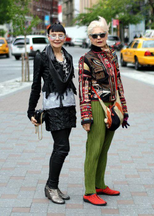 Стильные дамы в возрасте