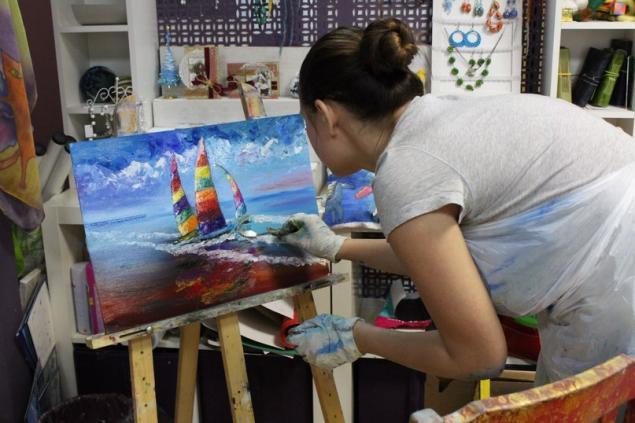 живопись маслом, мастер-класс, мастер-класс по живописи