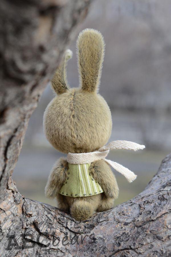 заяц, авторская игрушка
