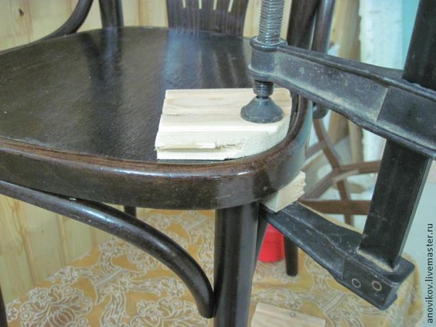 Ремонт сидения венского стула. - Ярмарка Мастеров - ручная работа, handmade