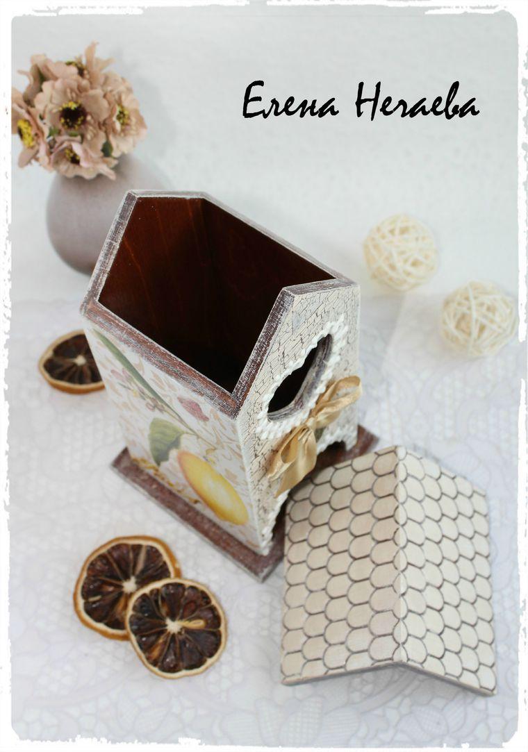 домик для чайных пакетов