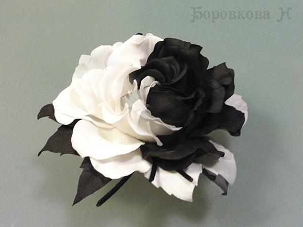 цветы из фоамирана, мк по цветам из фоамирана