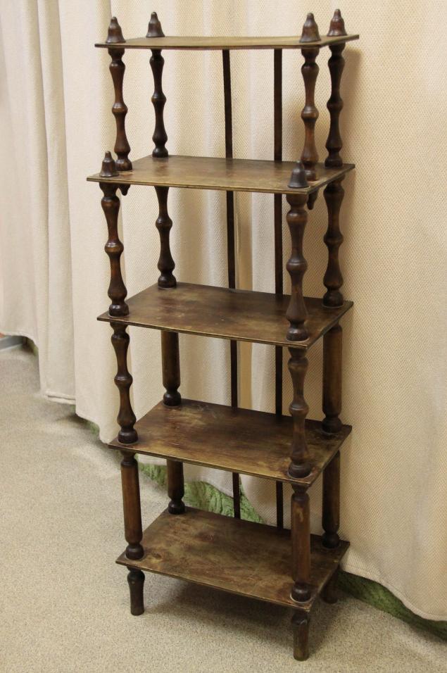 старинная этажерка, отдам даром мебель