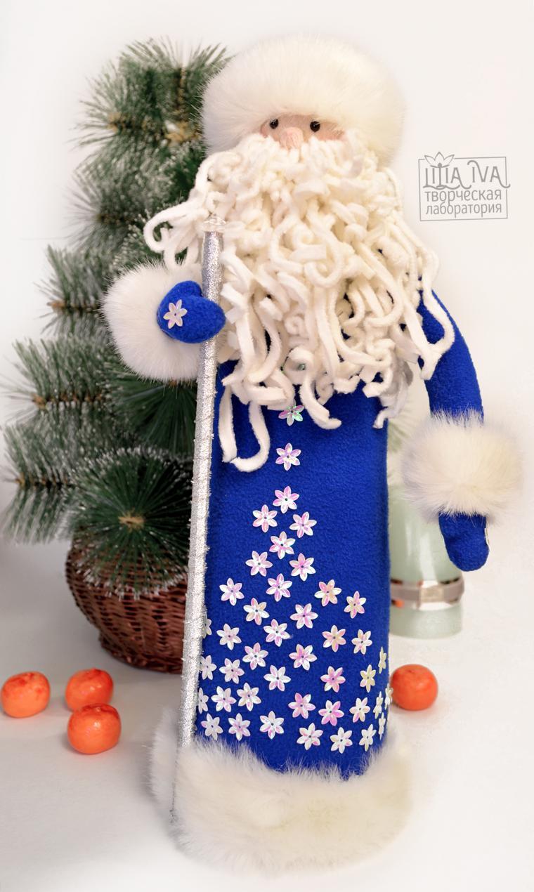 выкройка и схема костюма деда мороза и снегурочки
