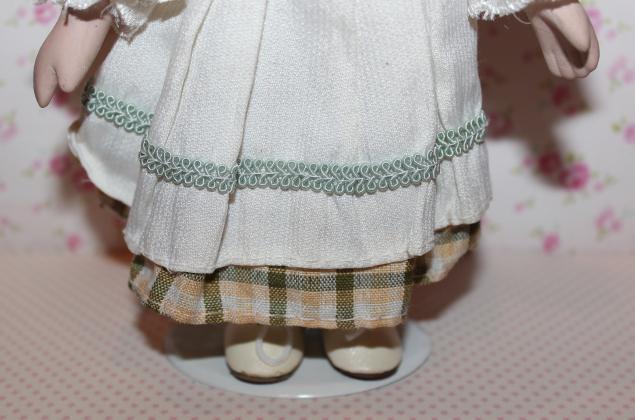 национальный костюм, наряд для куклы