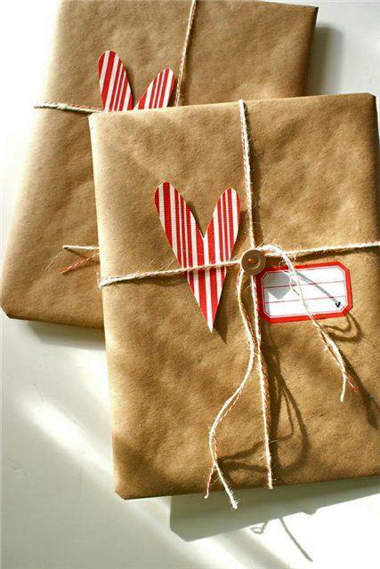 Влюбленное сердце. Оригинальные идеи упаковки подарка., фото № 35