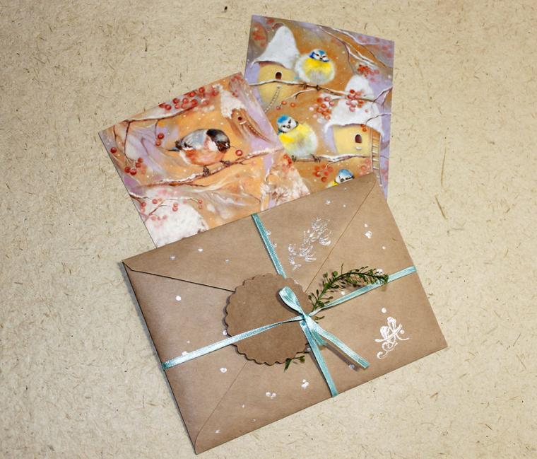 О приеме заказов на Новый год и новые открытки!, фото № 2