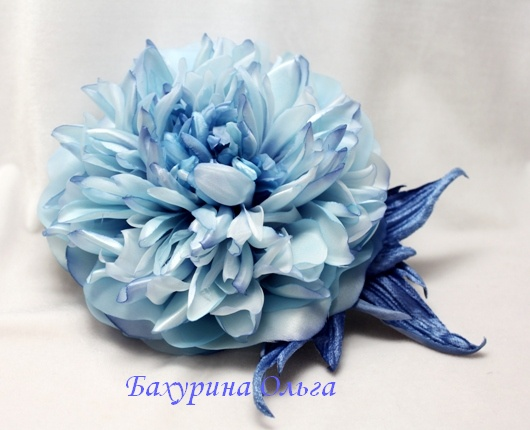 цветы из ткани, цветы из шелка, пвс