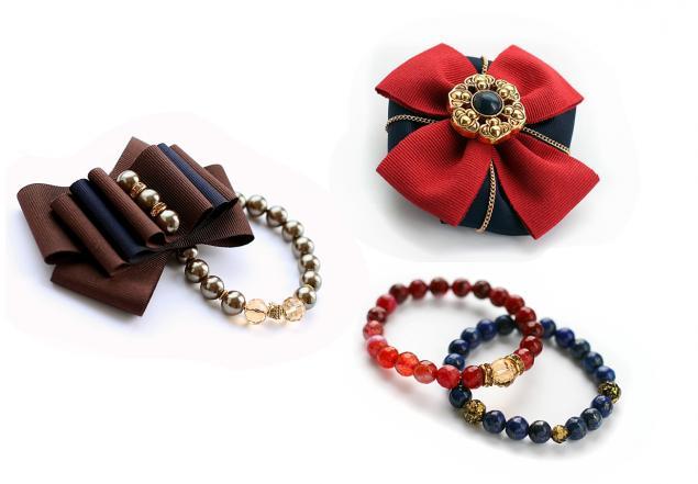 акция, браслет, брошь, подарок, лето, натуральные камни, брошь-орден