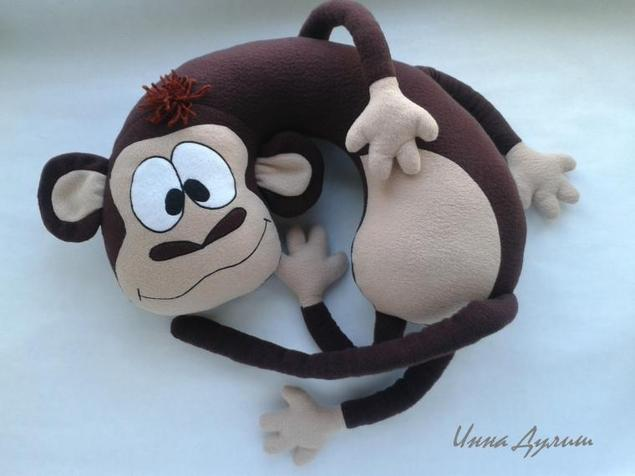 Подушки обезьянки на новый год своими руками