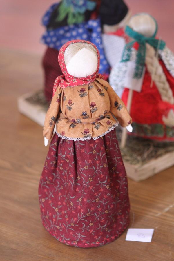 Куклы из лоскутков своими руками видео