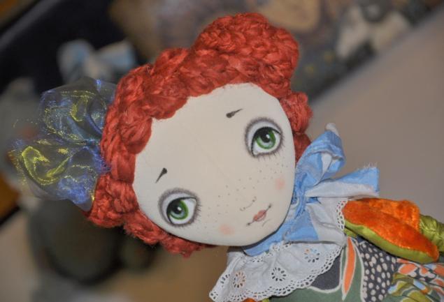 мк кукла, кукла из ткани