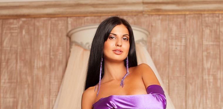 фиолетовый, серьги, подарок девушке, крупные украшения