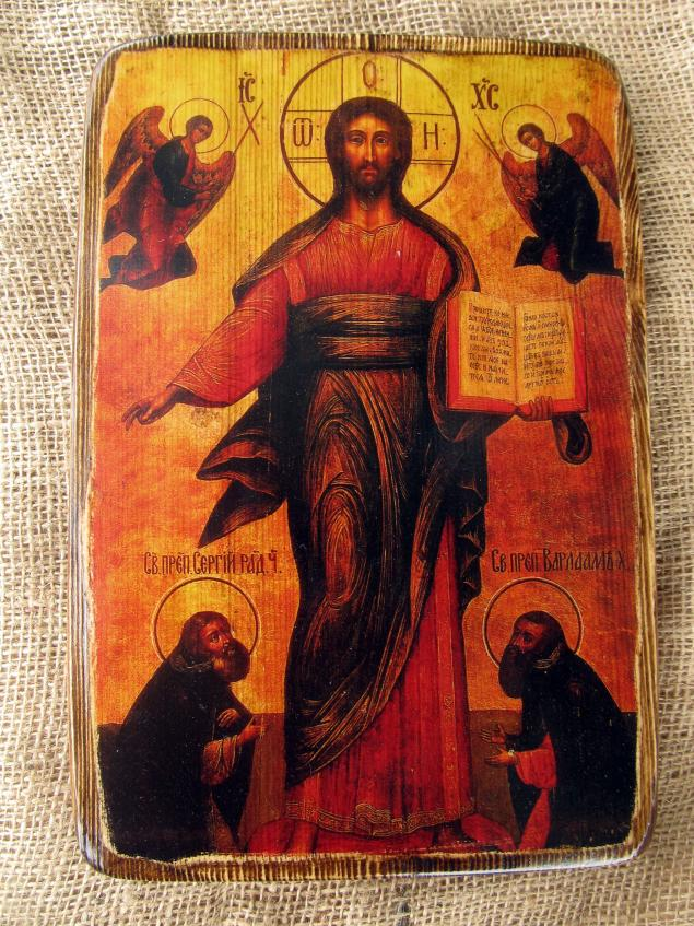 икона, икона на дереве, икона спасителя, сергий радонежский, варлаам хутынский, лик христа, иисус христос, христос, господь, спас, спасибо, спас смоленский, деревянная икона, религия, икона христа, христос-спаситель
