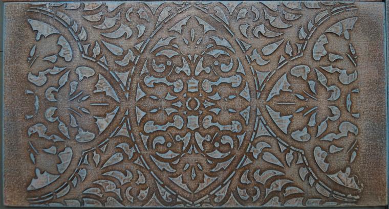 Тиснение орнамента на мебели. Мастерская Натальи Строгановой. Отчет. Часть 2, фото № 19