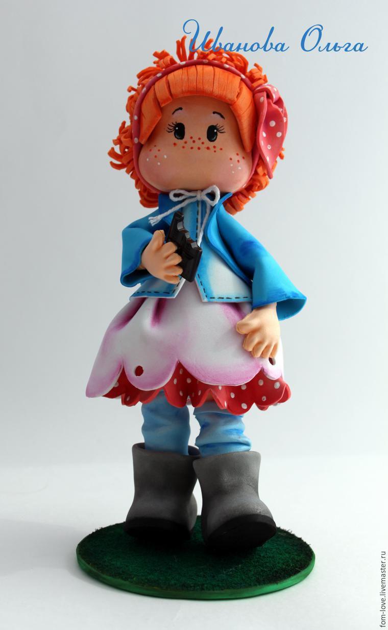 Фоамиран обувь для кукол мастер класс