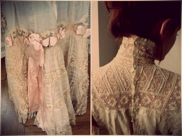 Фото свадебное платье в винтажном стиле