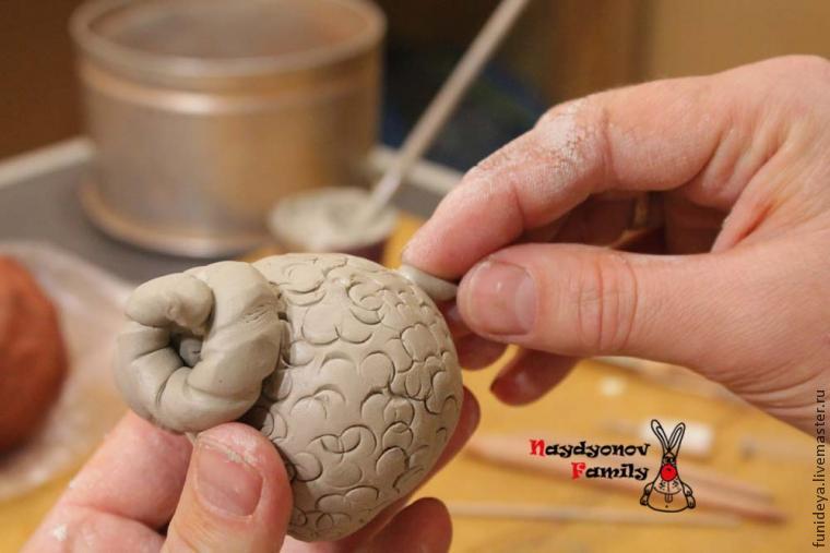 Глиняное няшество барашество. МК Сергея Найдёнова