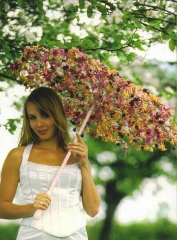 аксессуар, на свадьбу, оригинальный зонт