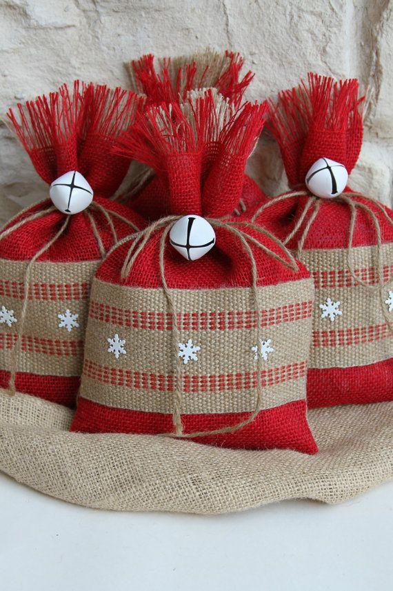 Мешок для подарков своими руками