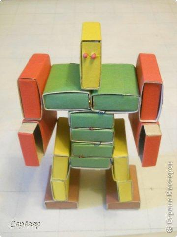 Как сделать макет робота