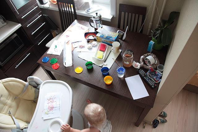 Как рисовать с малышом полутора лет, фото № 11