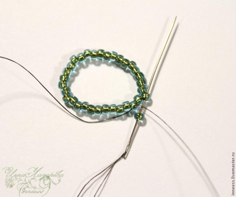 Серёжки с плетением