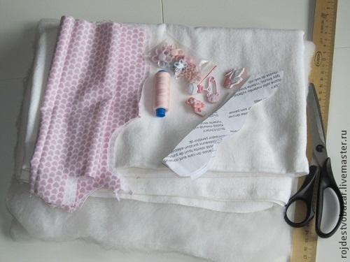 текстильный туесок