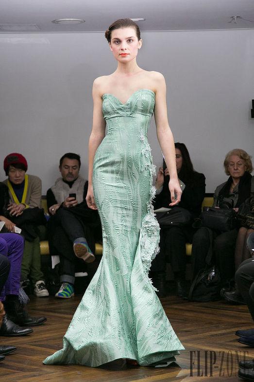 Tony Yaacoub Haute Couture весна-лето 2014, фото № 9