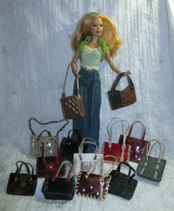 Кожаные мелочи  для кукол, фото № 3