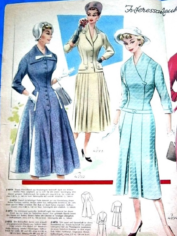 Журнал мод 50 60-х годов 35