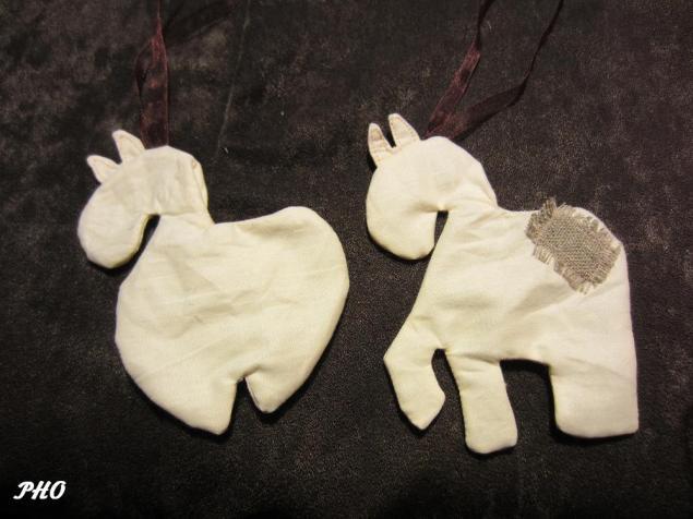 Шьём лошадок - символ 2014 г. 10713