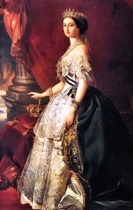 муза, наряды 18 века