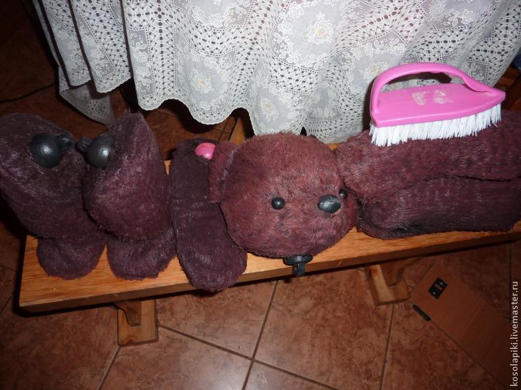 реставрация медведя