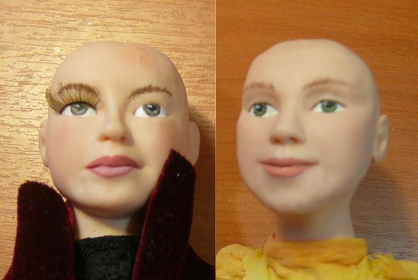 композиция по фото, портретная кукла