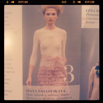 публикация, журнал, платье