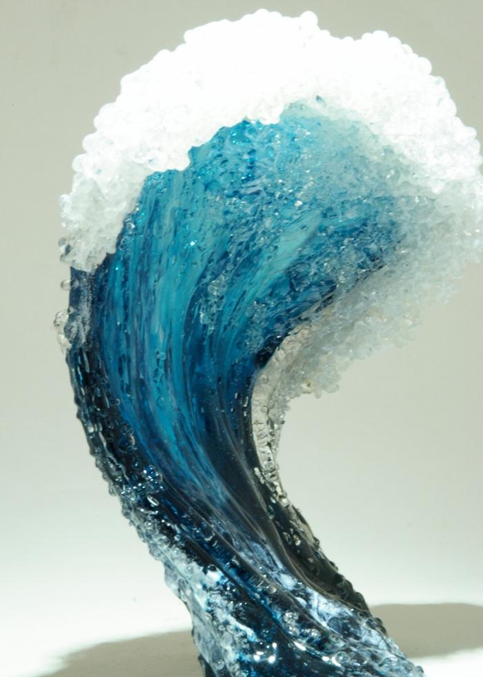 морская тема, из стекла
