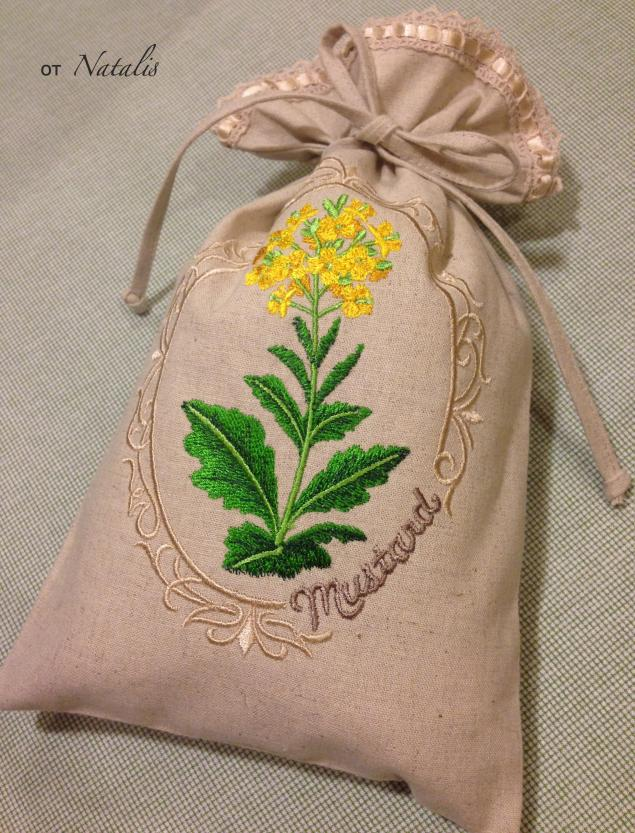 мешочек, мешочки для трав, травы, мешочки для кухни