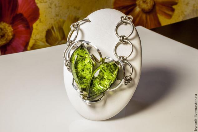 буранит, зеленый буранит, украшения с буранитом, зеленый янтарь, янтарь, украшения с янтарем