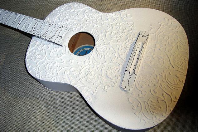 Свадебная гитара для фотосессии - Ярмарка Мастеров - ручная работа, handmade