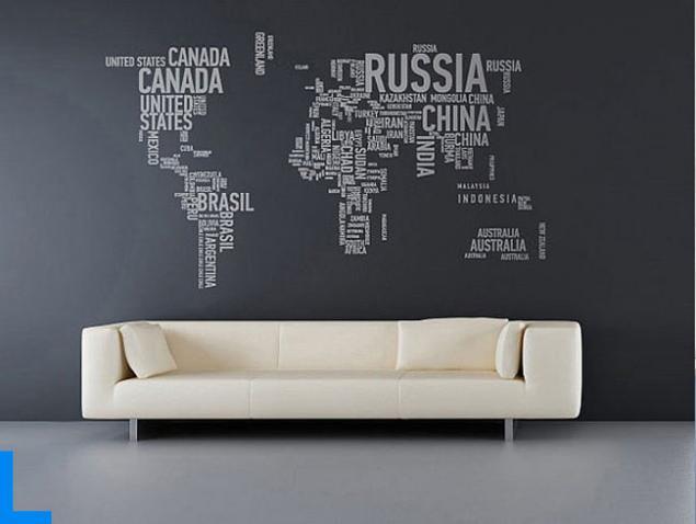 Мысли на виду! (или 60 идей декора стен с помощью слов, букв и цифр), фото № 2