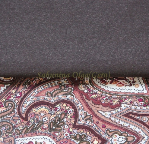 павловопосадские платки, джинса, женщина