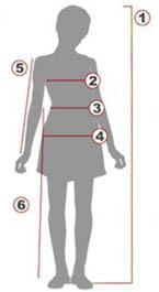 Таблица размеров для девочек, фото № 1