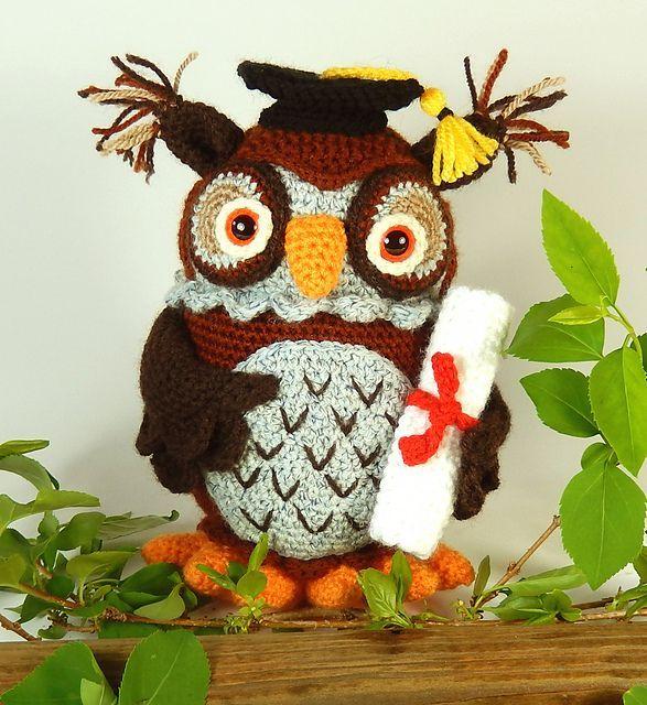 Ravelry: Wesley the Wise Owl pattern by Moji-Moji Design