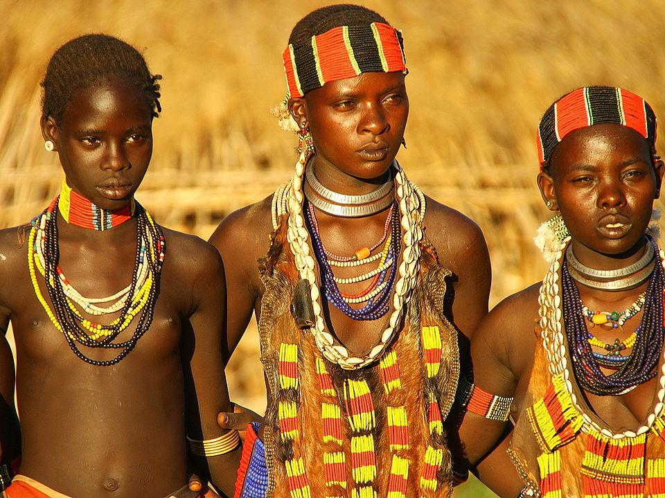 Маленькие голые негритянки